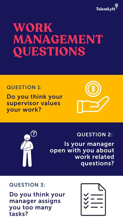 work management questions