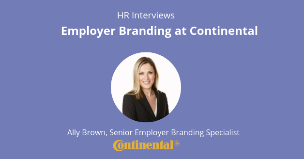 Employer Branding at Continental: Interview with Ally Brown
