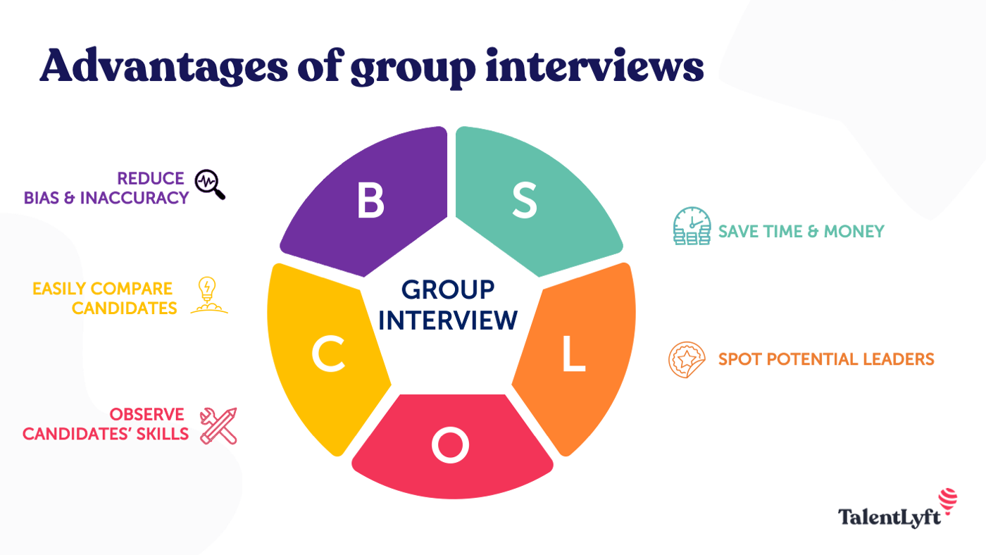 Group interview benefits