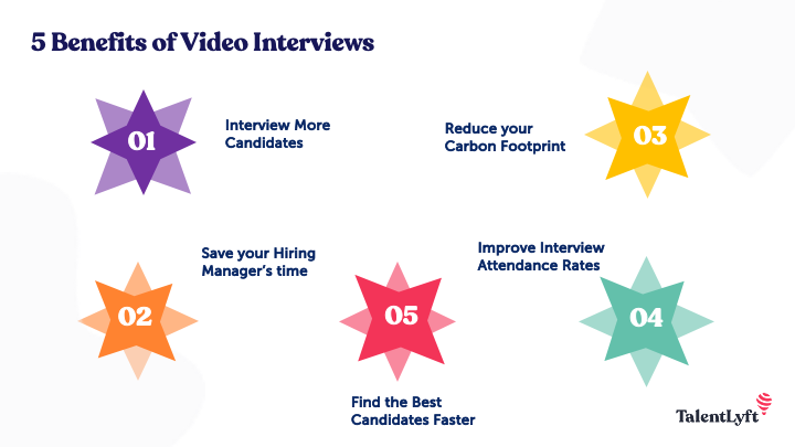 5 Benefits of Video Interviews