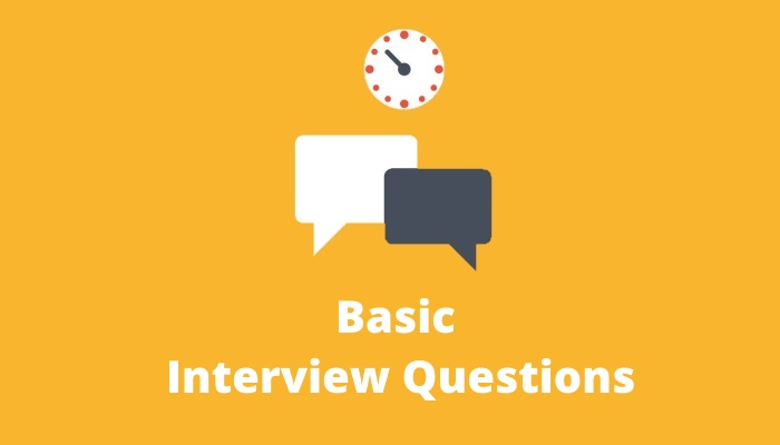 Basic-interview-questions