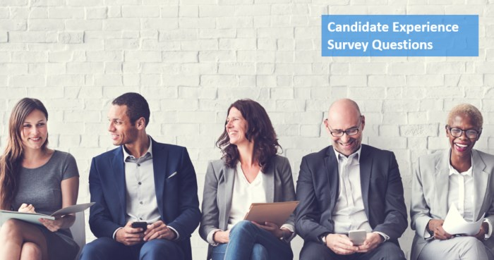 Candidate experience survey questions sample