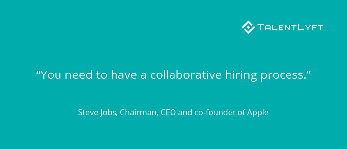 Collaborative-hiring-process-Steve-Jobs-quote