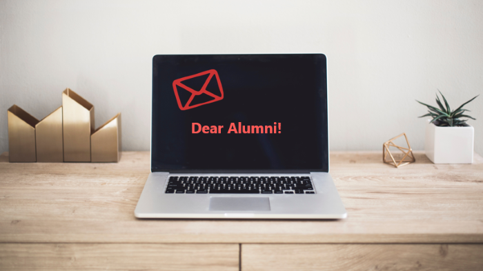 referral request email to alumni