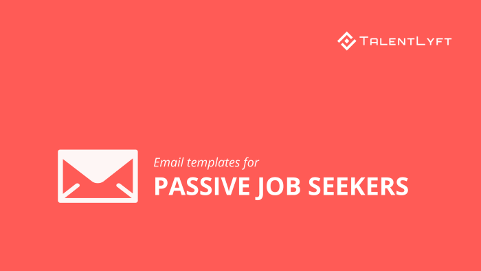 Email-templates-for-passive-job-seekers