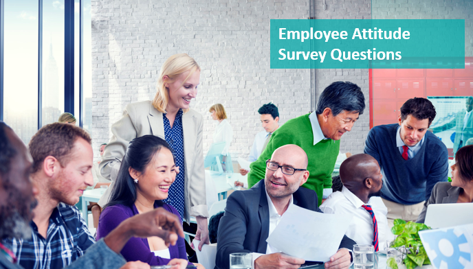 survey questions to test employee attitude