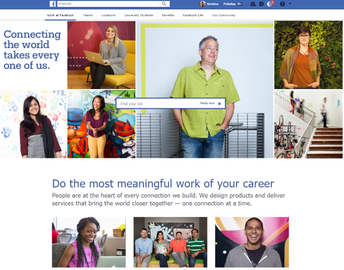 employer branding on career site