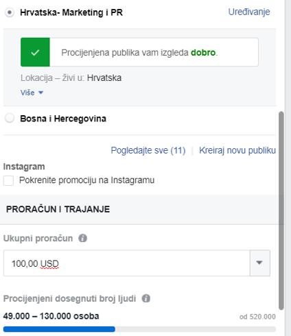 oglašavanje poslova na facebooku