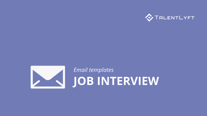 Job-interview-email-templates