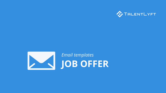Job-offer-email-templates