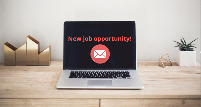 email template for new job opportunity