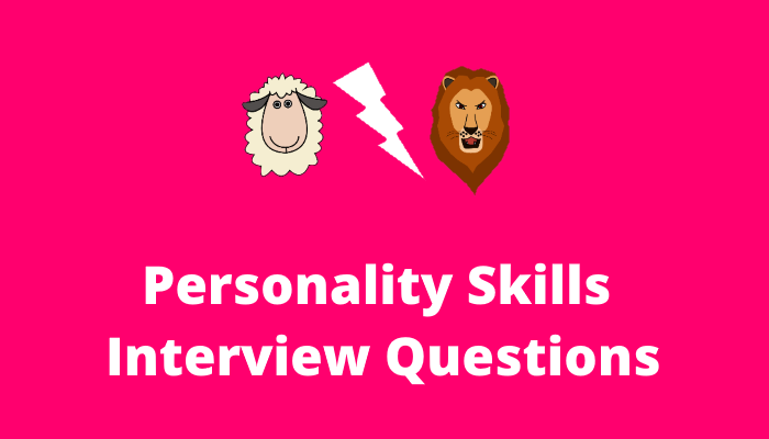 Personality-interview-questions