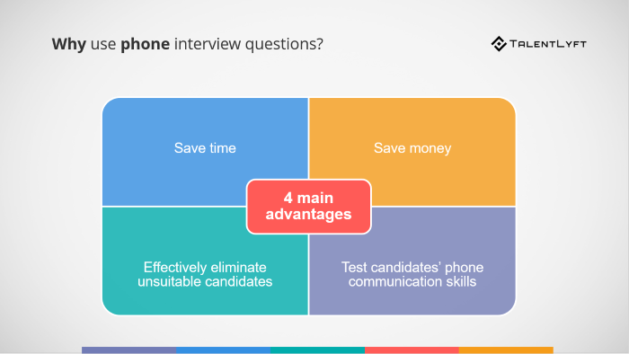 Phone-interview-questions-advantages