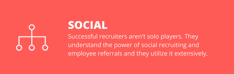 social recruiters are successful