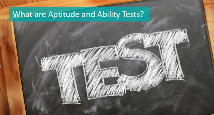 what are aptitude and ability tests