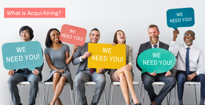 what is acqui hiring
