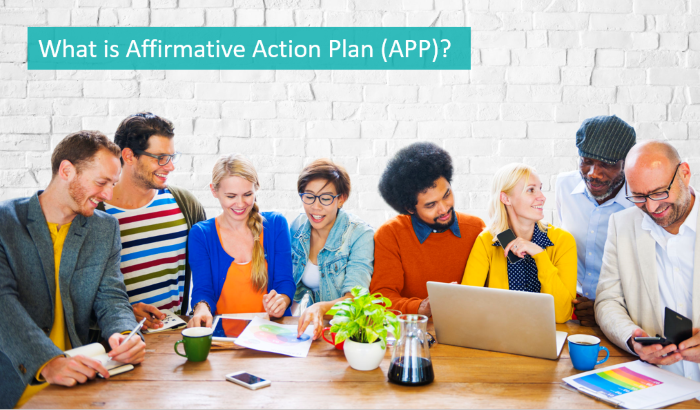 what is affirmative action plan or APP