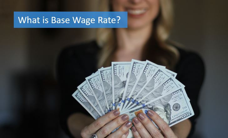 what is wage base rate