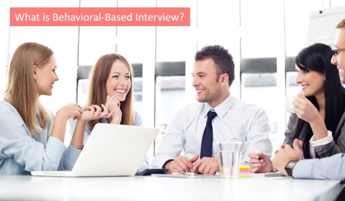 what is behavioral based interview
