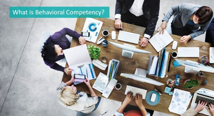 what is behavioral competency