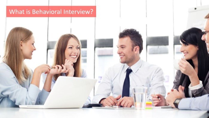 what is behavioral interview