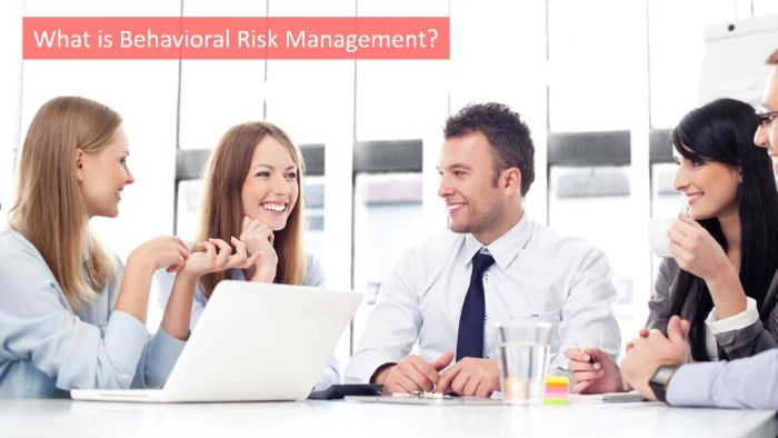 what is behavioral risk management