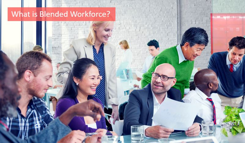 blended workforce definition