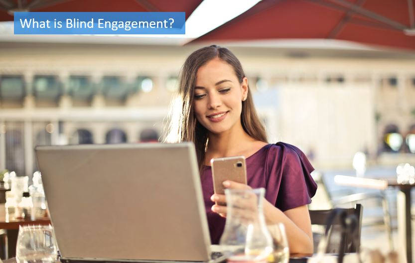 blind engagement definition