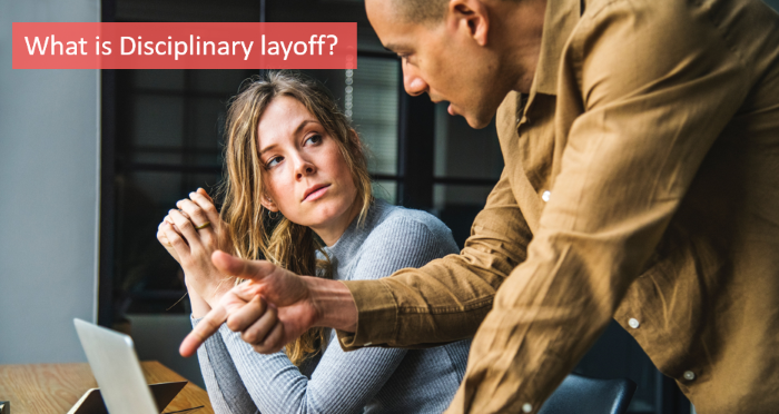 what-is-disciplinary-layoff