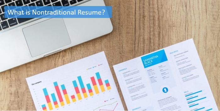 what is nontraditional resume