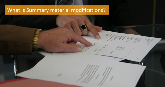 what-is-summary-material-modifications
